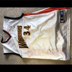 Reebok Golden State Warriors Dunleavy 34 Jersey XL